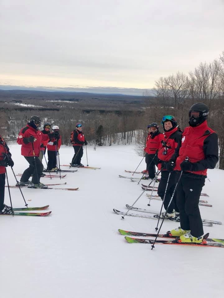Big Powderhorn Ski Patrol Ski Training