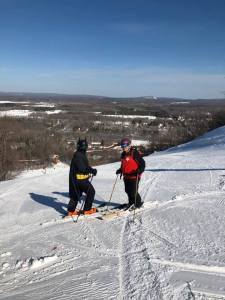 Batman of the Slopes visits Powderhorn