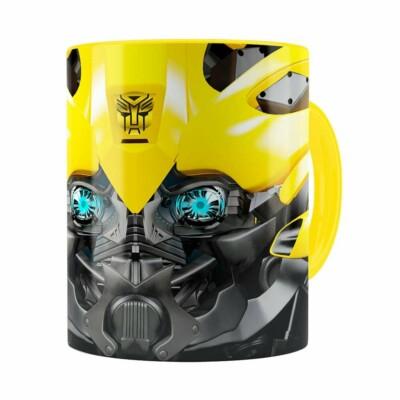 Caneca Bumblebee 3d Print Transformers Amarela