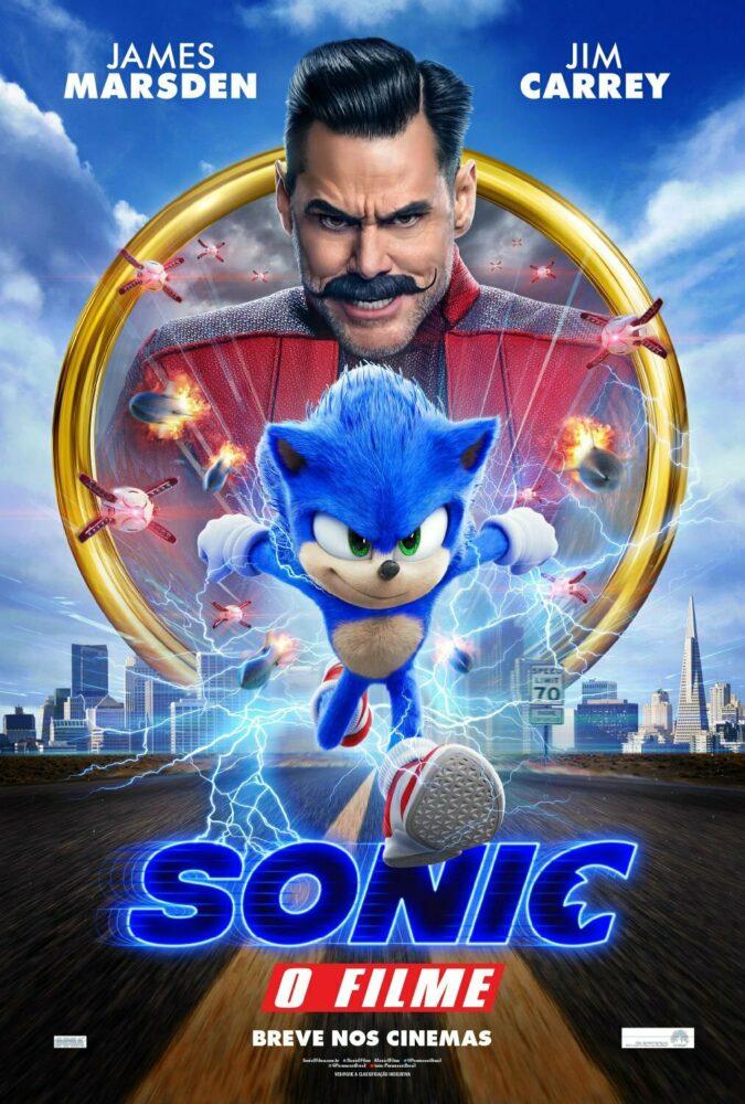 Sonic O Filme Estreia