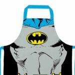 Avental Batman Body Em Algodão 80x70cm