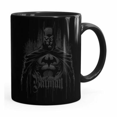 Caneca Batman The Dark Knight Preta