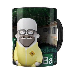 Caneca Breaking Bad 3d Print Preta
