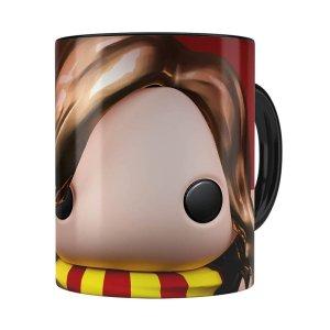 Caneca Harry Potter Hermione 3d Print Preta
