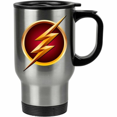 Caneca Térmica The Flash Logo V01 500ml Inox
