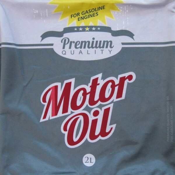 Capa De Almofada Loft Motor Oil 45x45cm