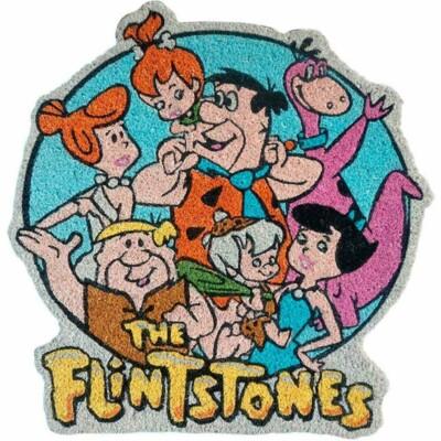 Capacho Flintstones All Family Happy 63x60cm