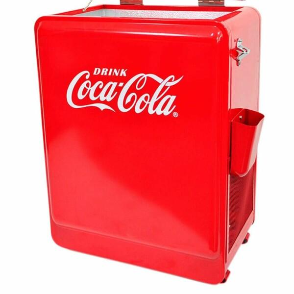 Cooler De Bebidas Coca-cola Grande 88cm