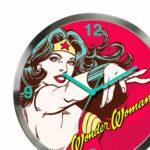 Relógio De Parede Mulher Maravilha Power 30cm