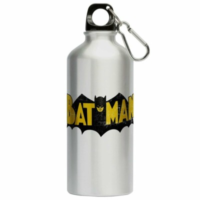 Squeeze Batman Logo Vintage 500ml Aluminio