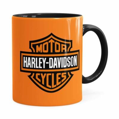 Caneca Harley Davidson American Preta