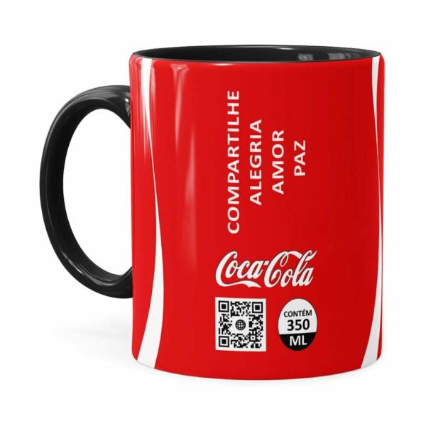 Caneca Personalizada Coca-cola Quanto Mais Preta