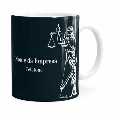Caneca Personalizada Direito V02 Branca