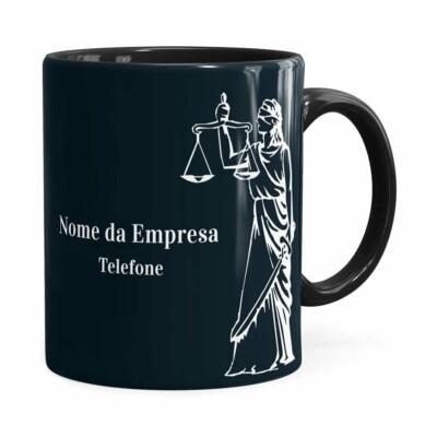 Caneca Personalizada Direito V02 Preta