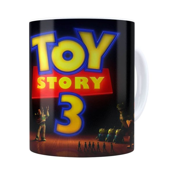 Caneca Toy Story 3 V01 Branca