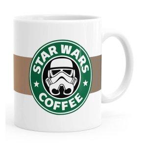 Caneca Star Wars Coffee Branca