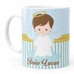 Caneca Personalizada Batizado Anjinho 03