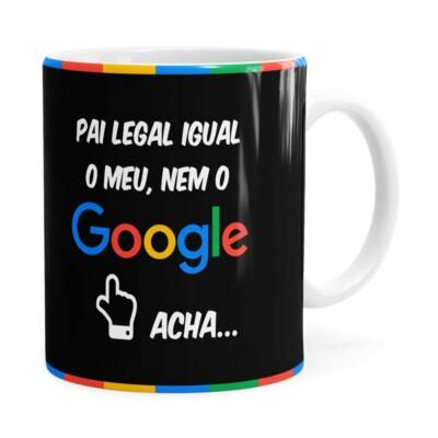 Caneca Pai Google V01 Branca