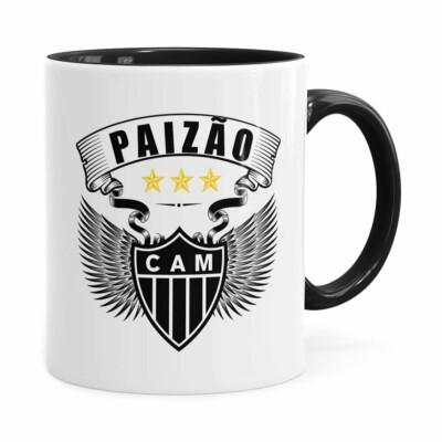 Caneca Personalizada Paizão Atlético Mineiro Asas Preta