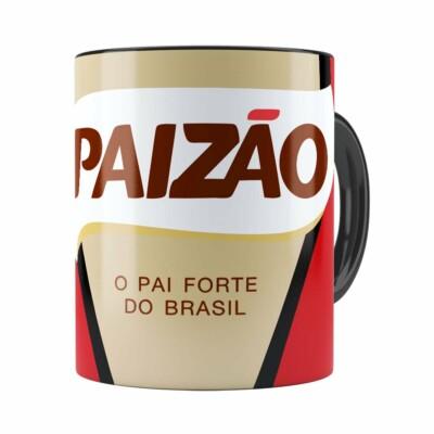 Caneca Paizão Café Pilão Preta