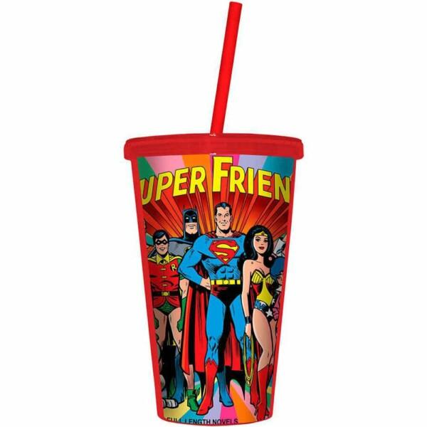 Copo Super Friends Dc Comics 500ml