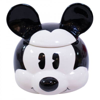 Caneca 3D Mickey Rosto de Porcelana