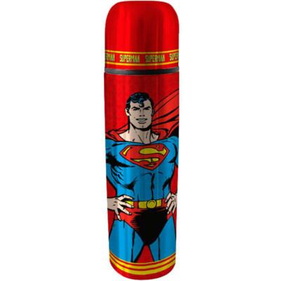 Garrafa Térmica Superman Vermelha 500ml