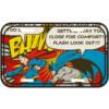 Placa Decorativa Batman E Superman Bam 30x15