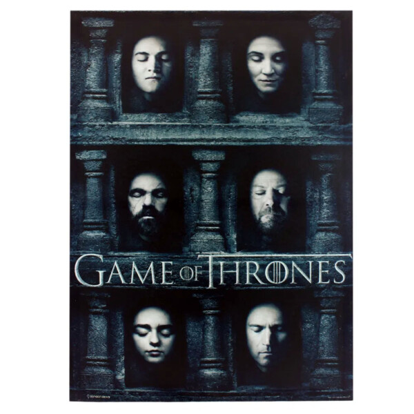 Quadro Game Of Thrones Hall Of Faces