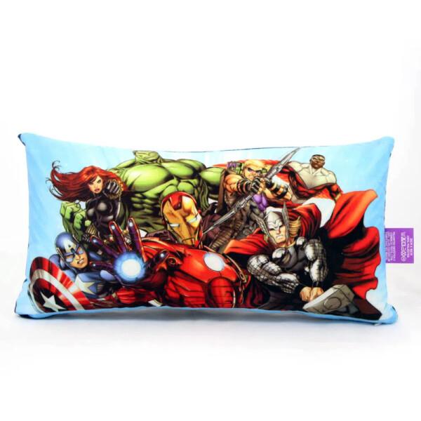 Almofada Os Vingadores Marvel Herois 20x40cm