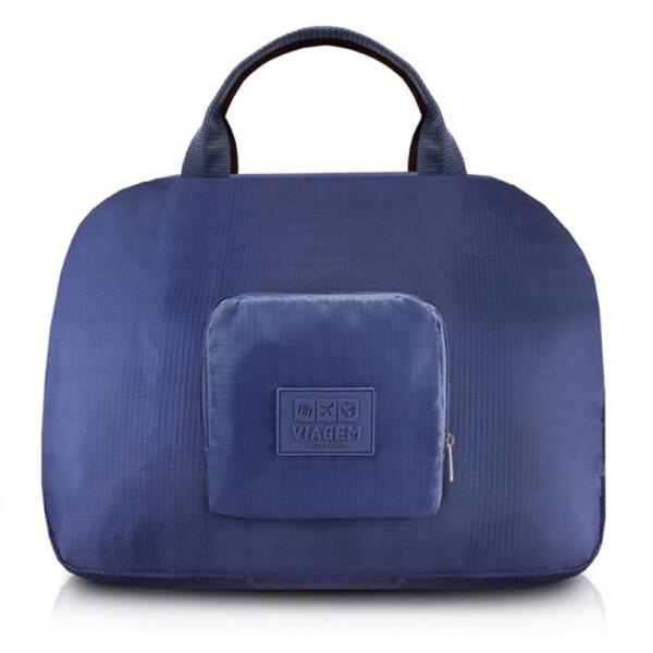 Bolsa Para Viagem Dobrável Jacki Design Azul