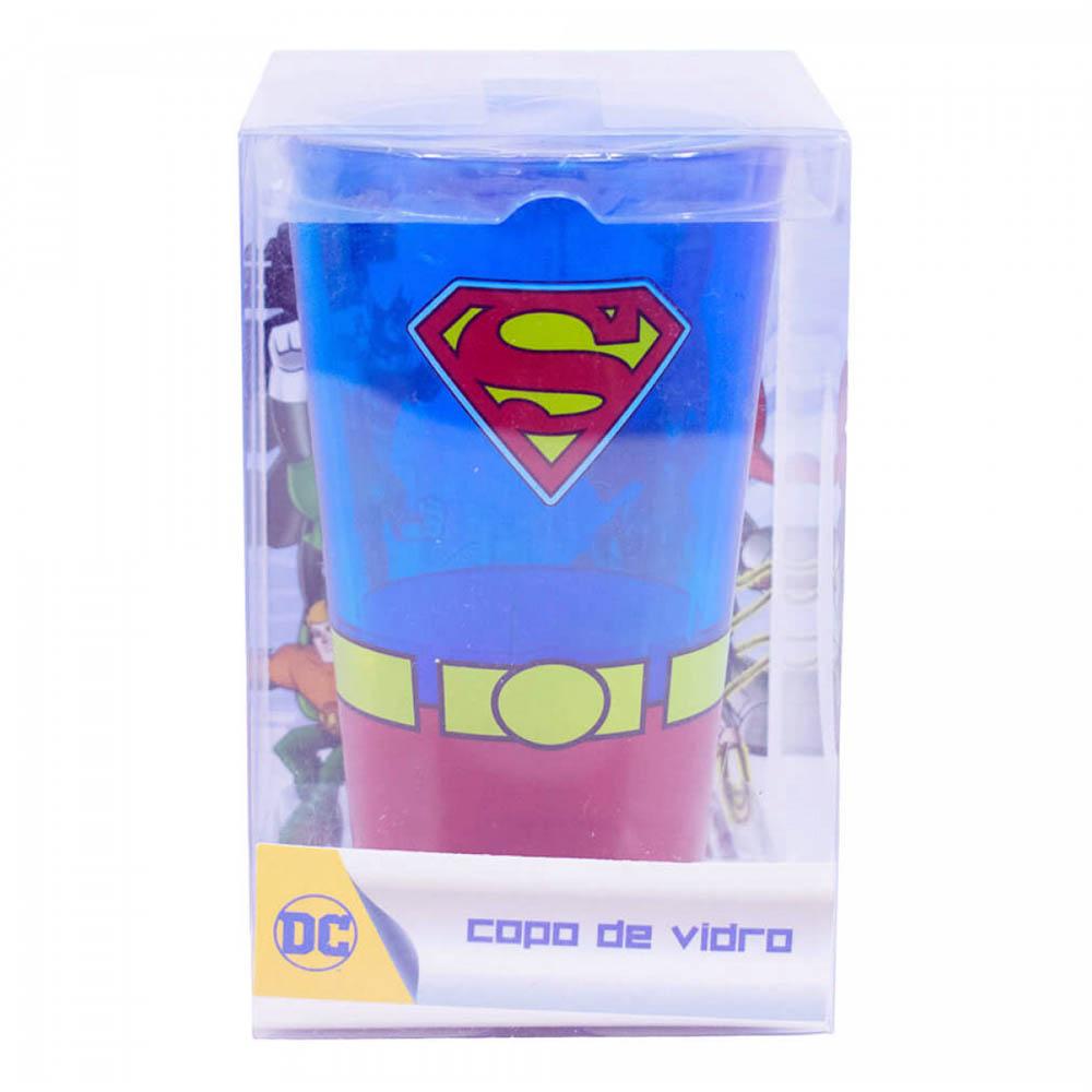 Copo De Vidro Superman 450ml