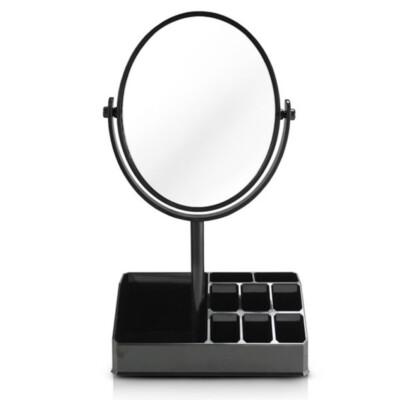 Espelho De Mesa Com Divisória Jacki Design Preta