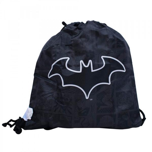 Garrafa Batman Com Mochila Tipo Saco 450ml