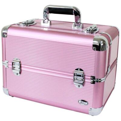 Maleta Jacki Design Bsb14126 Pró Maquiagem Rosa