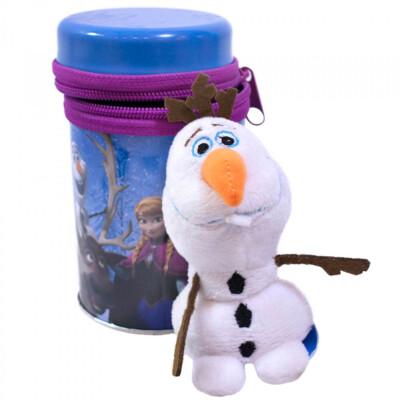 Chaveiro Boneco Olaf Na Lata Frozen