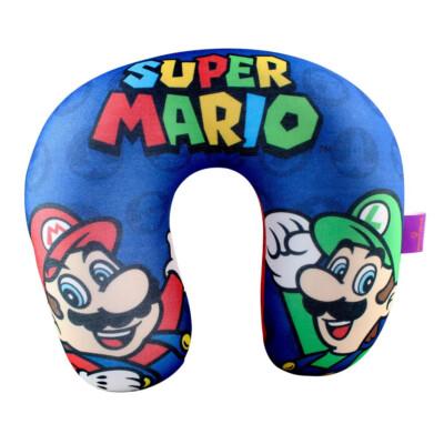 Almofada Pescoço Mario Luigi