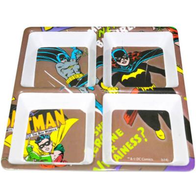 Petisqueira Quadrada Batgirl Em Melamina