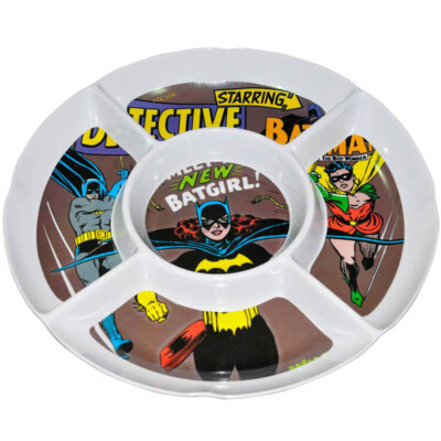 Petisqueira Redonda Batgirl Em Melamina