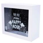 Cofre Porta Moeda Quadrado Para Meus Próximo Happy Hour
