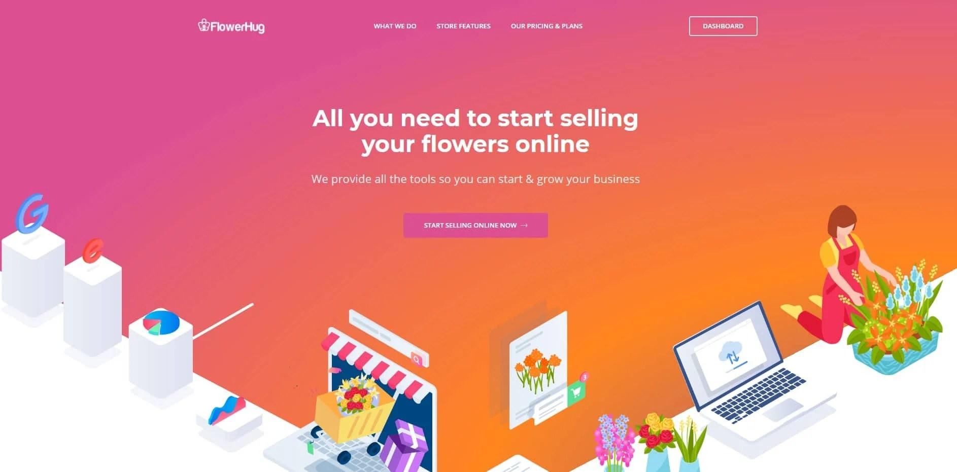 bigPromoter flosesrhug FlowerHug Florist eCommerce