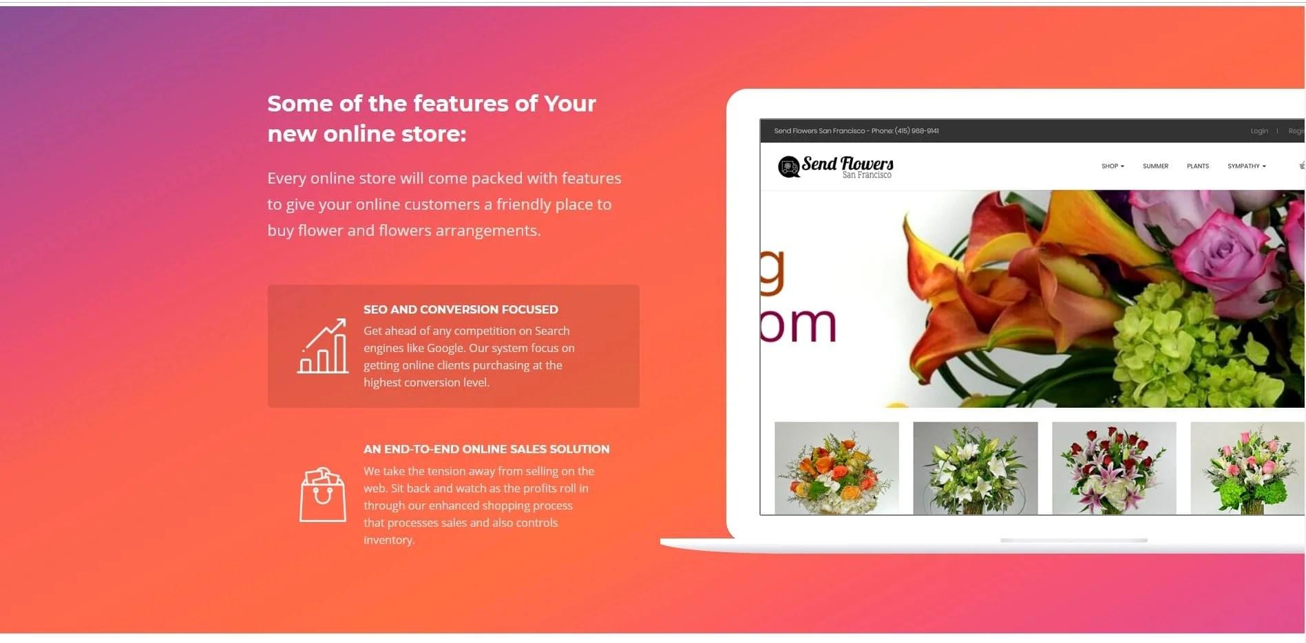 bigPromoter flosesrhug2 FlowerHug Florist eCommerce
