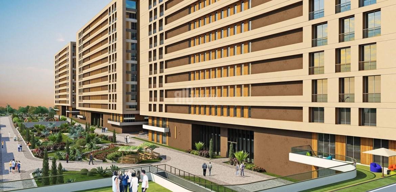 Big apartments for sale with horizon sea view in Istanbul Beylikduzu Kavakli