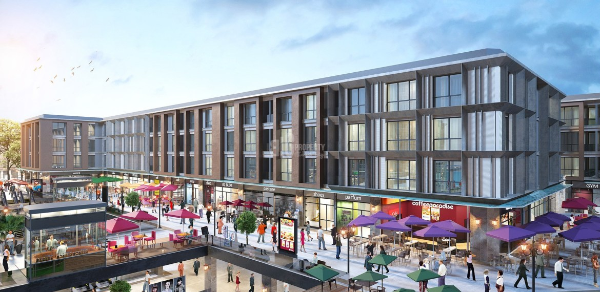 Commercial offices with shopping mall for sale in Istanbul kucukcekmece