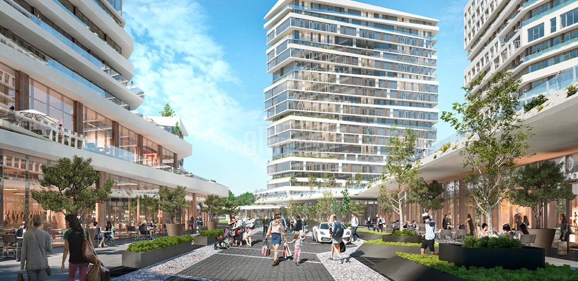 Commercial real estate Nivo İstanbul project for sale in Istanbul Kucukcekmece
