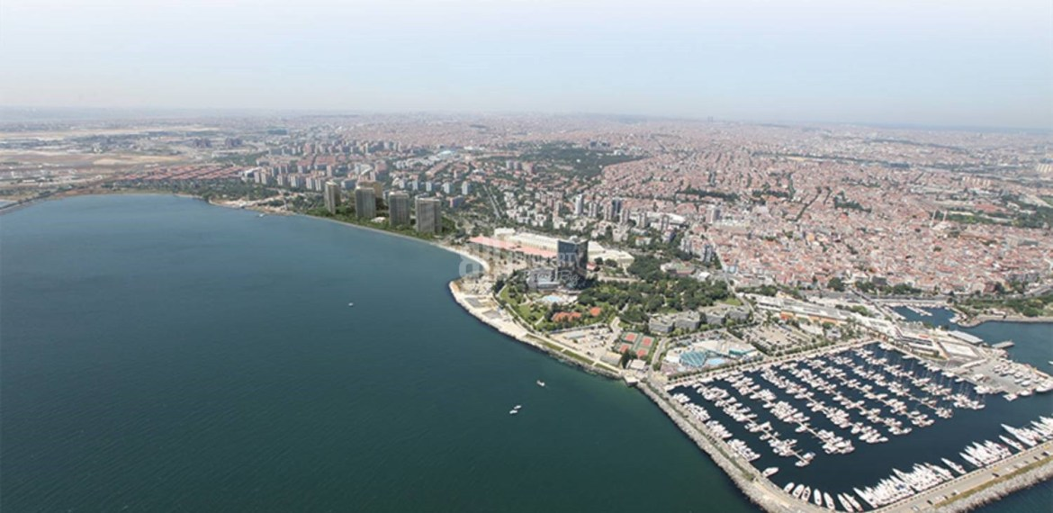 High Quality flats for sale with amazing sea view in Istanbul Bakirkoy
