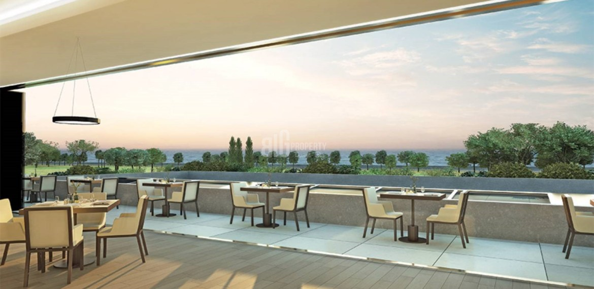 High Quality homes for sale with horizon sea view in Istanbul Zeytinburnu