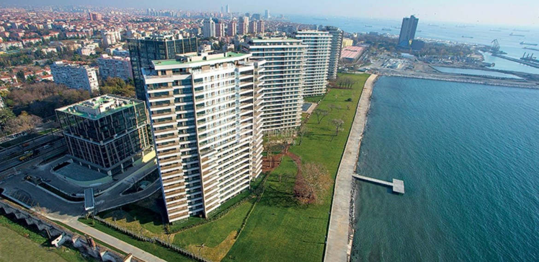 High Quality homes for sale with wonderful sea view in Istanbul zeytinburnu