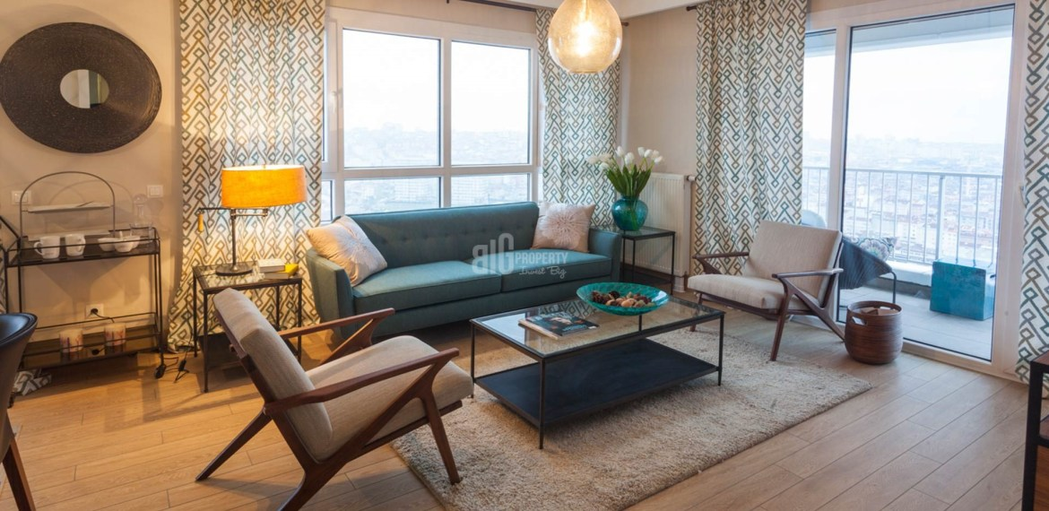 Luxury family flats for sale in bahcelievler Istanbul