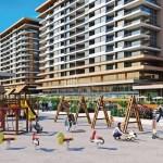 Luxury homes for sale with wonderful sea view in Istanbul Beylikduzu kavakli